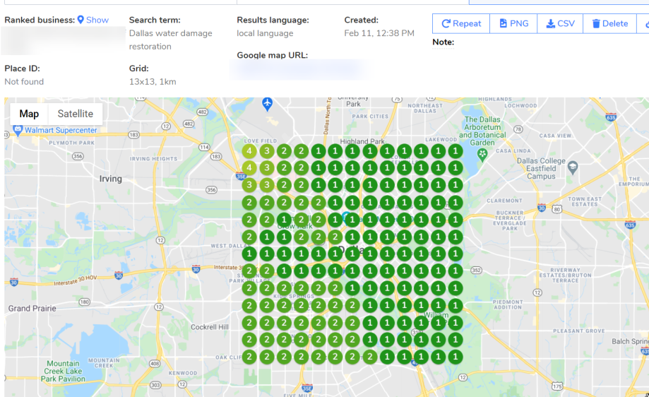how to rank my restoration company in Google Maps Pack